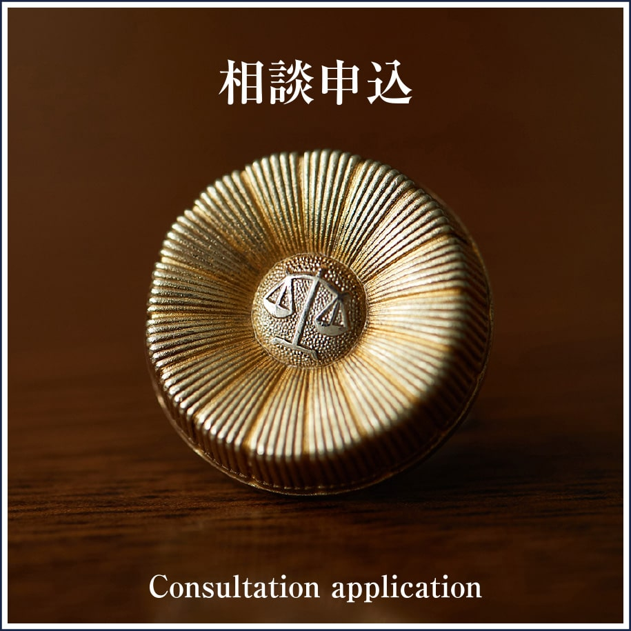 相談申込 Consultation application